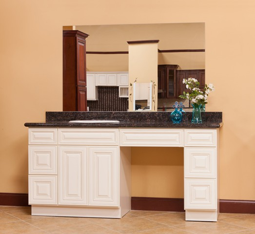 What is a knee drawer for Bathroom vanity warehouse tampa