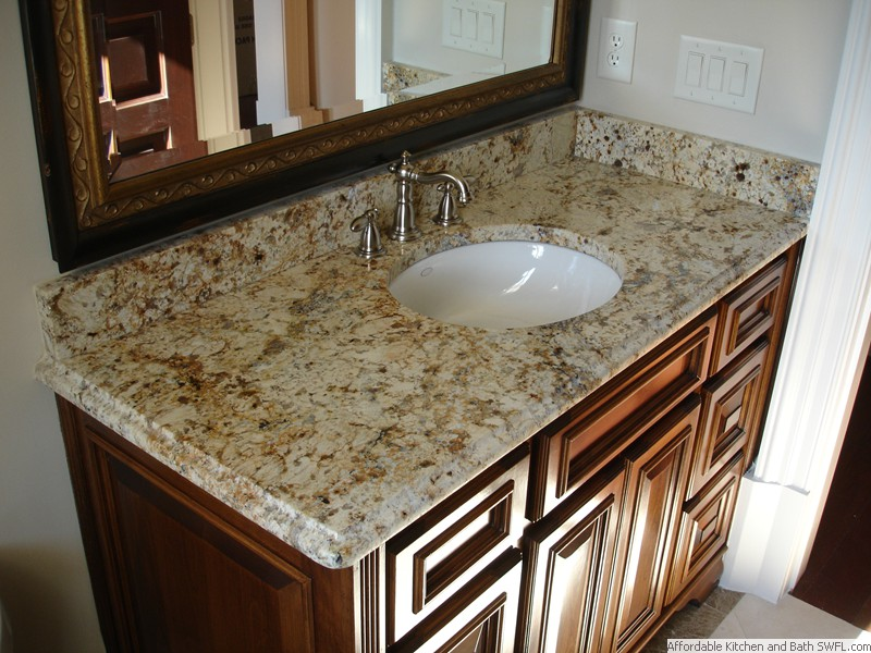 Good Granite Fireplace Vanity .