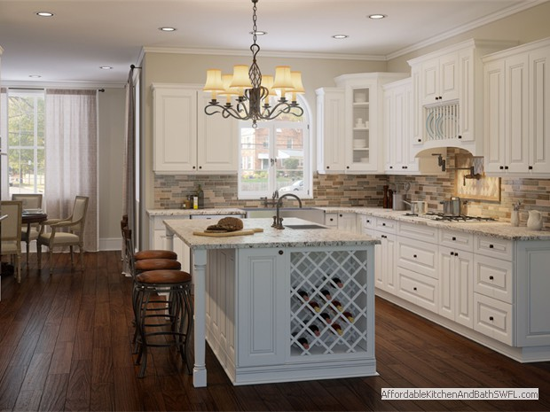 Buy Kitchen Cabinets Online | RTA - Ready to Assemble | Tahoe White