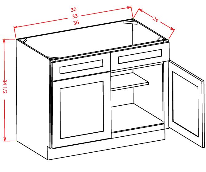 Bon Sink Base Cabinets