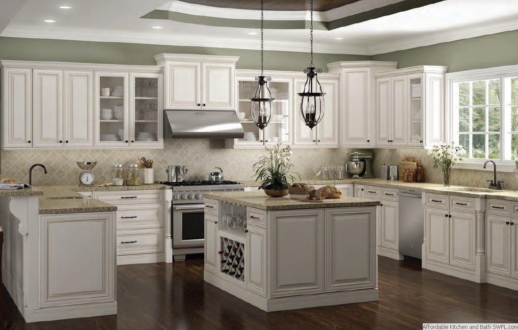 Kitchens Traditional White Antique Kitchen Pictures