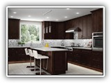 Kitchen Cabinets in Shaker Expresso